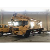 Buy cheap 4x2 Drive Mobile Aerial Platform / Aerial Platform Truck Rated Loading 200kg product