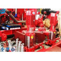 Buy cheap 50Hz / 60Hz Vertical Jockey Pump Fire Protection With Controller , Stainless Steel Material product