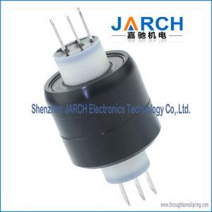 China 3 Pole 30A HF signal miniature Mercury Slip Ring A3H ethernet slip ring on sale