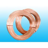 Buy cheap Copper Coated Steel Evaporator Tube 4.76 * 0.7 mm , Low Carbon Strip product