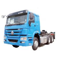 Buy cheap Sinotruk HOWO 6x4 420 hp Tractor Trailer Truck Euro 2 Engine Capacity 8L product