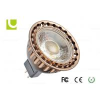 Buy cheap Suspended 500lm 5W Ra80 MR16 Warm White Led Spotlight For Offices / Gymnasium product