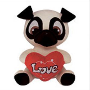 PUG Soft Animal Holiday Plush Toys PUPPY DOG Doll For Birthday Gift