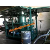 China portable transformer oil filtration machine with online moisture PPM sensor and online alarm, bdv value test factory on sale