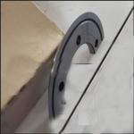 Buy cheap 2500mm semi-automatic corrugate paperboard slitting creasing machine product