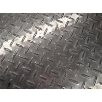 China Flooring Diamond Plate Stainless Steel Sheets 1800mm Width High Grade on sale