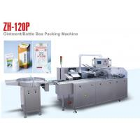 Buy cheap PLC Control ZH 120P Automatic Cartoning Machine for Small Medicine Bottle product