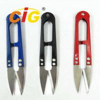 Buy cheap High Carbon Steel Yarn Cutting Scissors 107 * 22mm For Cutting Thread / Cloth product