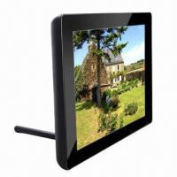 China 9.7-inch LED Digital Photo Frame with 1024 x 768 Pixels Resolution, Slim Housing and Multifunctional on sale