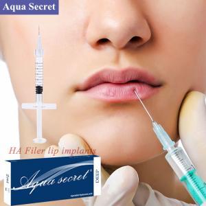 Buy cheap 1ml Fine Line Anti-wrinkle filler Cross-linked Hyaluronic Acid Injection Dermal Filler product