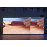 Buy cheap Stage Indoor Led Video Wall 4.81mm Pixel With 1920hz High Refresh Rate product