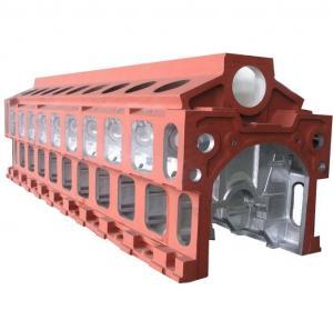 Engine frame
