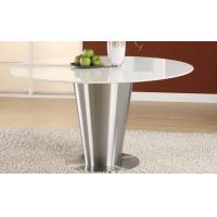 Buy cheap Stainless Steel Artificial White Marble Top Round Dining Table Dia1000 * 750mm from Wholesalers