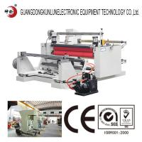 Buy cheap Automatic Film Slitting Machine Industrial Tape Slitting And Rewinding Machine product