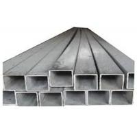 Buy cheap AISI 304 Welded Stainless Steel Square Pipe 25.4 * 25.4 * 1.4mm for Industry product