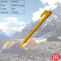 Buy cheap plastic tent pegs from Wholesalers