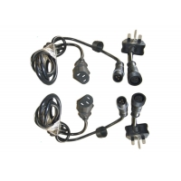 Buy cheap Street LED 3 Pin 1000mm Waterproof Power Cord product