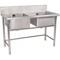 Quality Stainless Steel Double Compartment Sink for sale