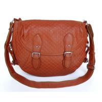 Buy cheap Lady Style 100% Real Leather Brown Shoulder Messenger Bag #2618 product