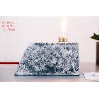 Buy cheap Home deco marble cement pendant lamp rectangle concrete table lamp with lighting tube product