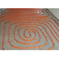 Buy cheap Flexible 20mm Underfloor Heating Pipe , Transparent White Pert Pipe For Hot Water product