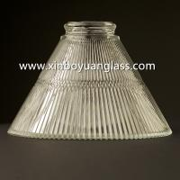 Quality Glass Cone Lamp Shade Pendant Light cover for sale