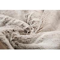 Buy cheap Super Soft Fake Fur Blanket For Home Hotel Bed / Chair , Plush Fake Fur Comforter product