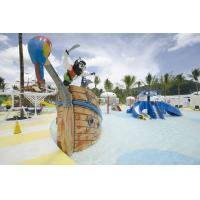 Buy cheap Fiberglass Pirate Ship Amusement Park Equipment For Spray Play from Wholesalers
