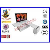 Buy cheap Pure White Two Players DIY Arcade Machine Game Frame Design For TV Cabinet product