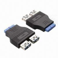 Buy cheap USB 3.0 Connectors with 2 x A Female to IDE, Made of PVC product