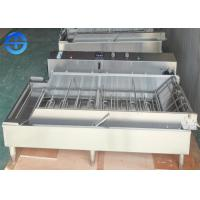 Buy cheap Automatic Continuous 4 Rows Stainless Steel Donut Fryer Machine product