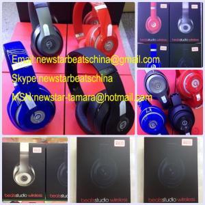 Buy cheap 2014 new black/white/red/blue/silver/matte black wireless studio 2.0 v2 headphone by dr dre bluetooth studio headphone product