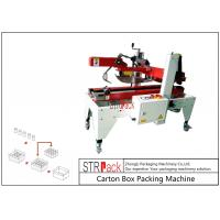 Buy cheap Flaps Carton Packing Machine / Automatic Carton Folding Machine With Both Sides Drive product