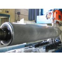 Buy cheap 2 Ply Corrugated Rollers Single Facer Chrome Plated or Tungsten Carbide materials product