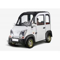 Buy cheap 1200W 3 Seats Mini Electric Car Disc Brake Steering Whleel For Family 2430*1196*1609 MM product