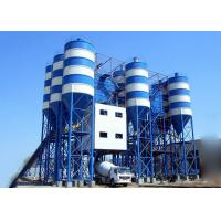 Buy cheap Belt Type Hzs90 Fixed Ready Mix Concrete Plant 2250L Charging Volume product