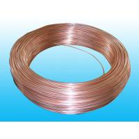 Buy cheap Copper Coated Evaporator Tube 4 * 0.6 mm , Soft And Easy To Bend product