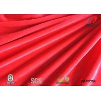 Buy cheap Pink PFD Solid Spandex Velvet Fabric For Lady Garment / Home Textile 1mm Pile product