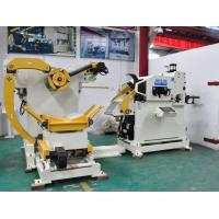 Buy cheap Stamping Equipment Punch Uncoiler Straightener Feeder For Blanking Machine product