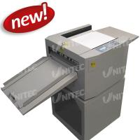Buy cheap 40 Sheets / Min Electric Paper Creasing Machine Crease-335 with CE Certificated product