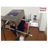 Buy cheap 1-2 Lines Lot Number Printing Machine YM-A2000-7 For Various Building Materials product