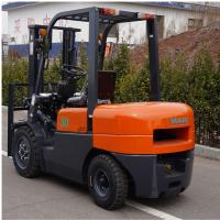 FD30 Diesel Forklift Truck 3000kg Capacity Customized Color 1 Year Warranty for sale