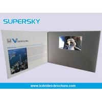 Multi Player Automatic Video Gift Card Video Leather Production Business Cards