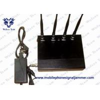 China 35dBm / 800mW Cell Phone Signal Scrambler , Mobile Phone Jamming Device Dust Resistant on sale