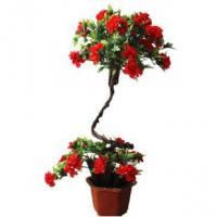 Buy cheap PE / PU Lotus Fake Potted Plants , Artificial Flower Pots Size Customized product