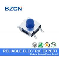 Buy cheap 4 Pin Terminal Mini Momentary Push Button Switch , 6X6 mm Tactile Switch product