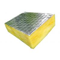 Buy cheap Aluminum Foil Faced Glass Wool Blanket Non Toxic Construction Acoustic product