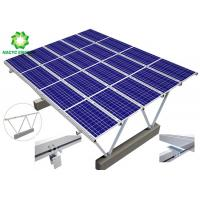 Buy cheap Solar Carport power energy Aluminum Structure Solar Bracket Ground Mount Solar Racking Systems Excellent Stability product