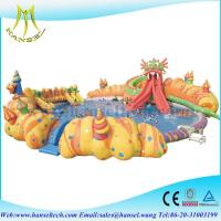 Buy cheap Hansel Inflatable Water Park For Pool Party, Inflatable Water Games For Rental Business product