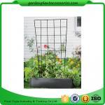 "Buy cheap Sturdy Metal Vegetable Garden Trellis , Garden Green Bean Trellis 56"" trellis is 47-1/2"" H installed; 30"" W at the top a product"